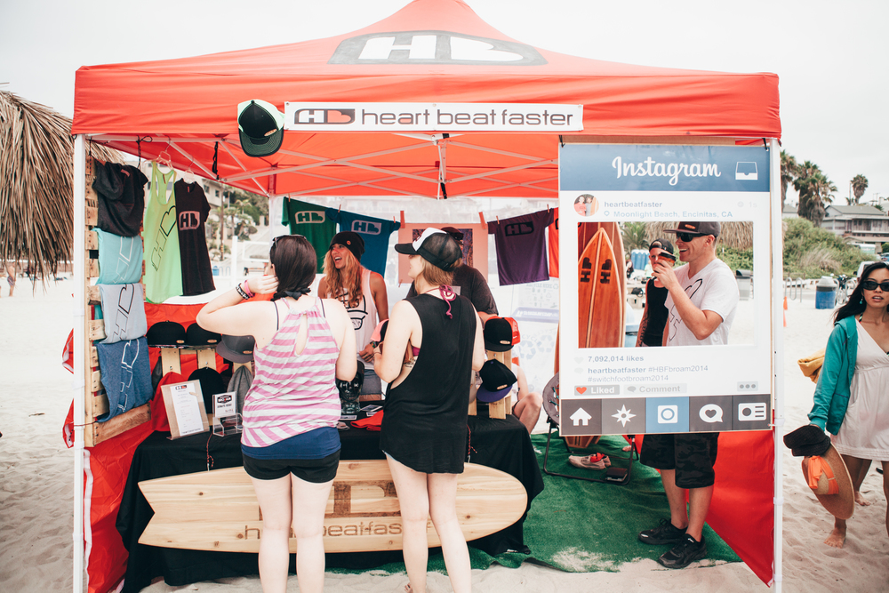 HB Tent.  Photo:  @BethanyMarieCo