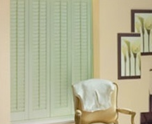 unique solutions faux wood shutters