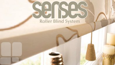 senses roller blinds system