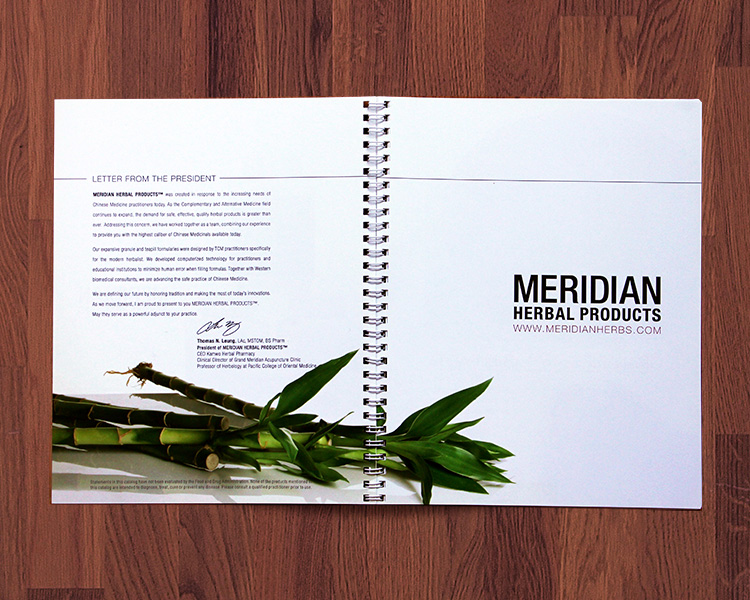 Meridian Herbal Products Catalog