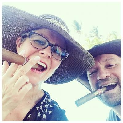 Cindy & Jonathan having too much fun in Cuba