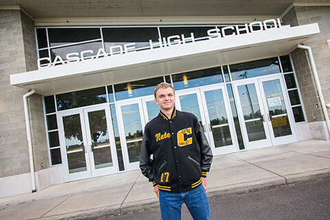 Cascade High School Senior