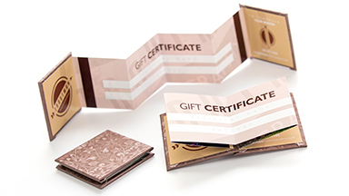 Giving as a Gift?  Each Oh Baby! Plan includes a Boutique Linen Accordion Gift Certificate