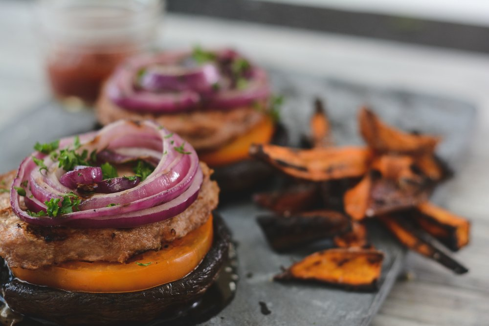 Portabella Mushroom Burger - THE SEXYFIT METHOD