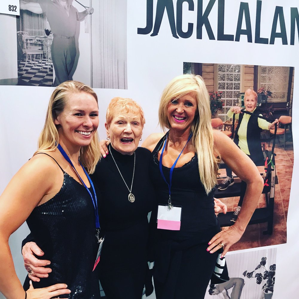 Mandie Brice, Elaine Lalanne, and Linda Mitchell