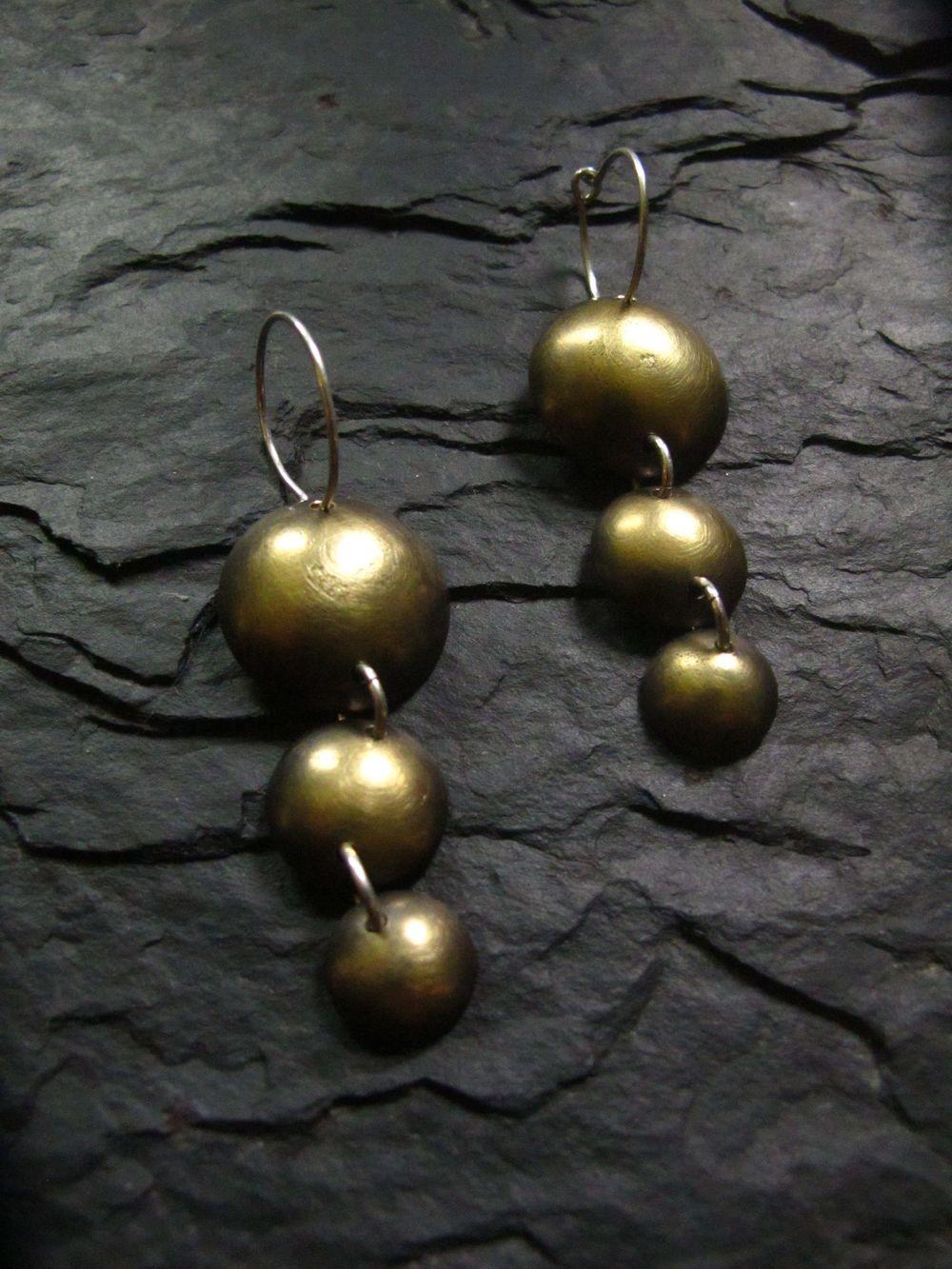 Casacading Droplet Earrings