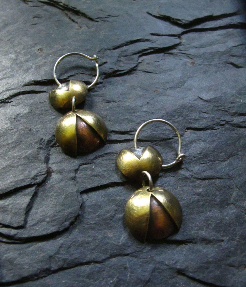 Cosmic blossom earrings