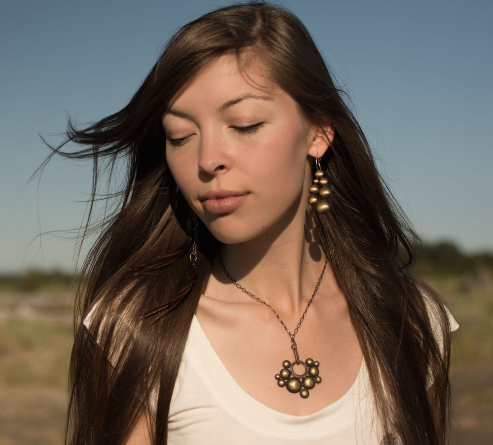 Cascading clouds pendant & earring.jpg