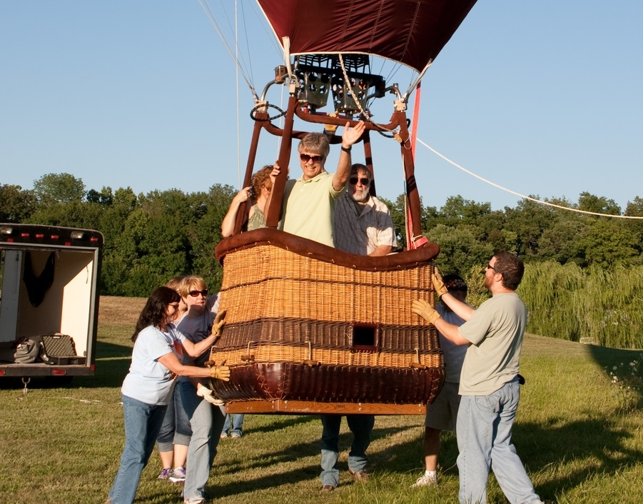 Book a private BALLOON RIDE for two OR THREE PASSENGERS!