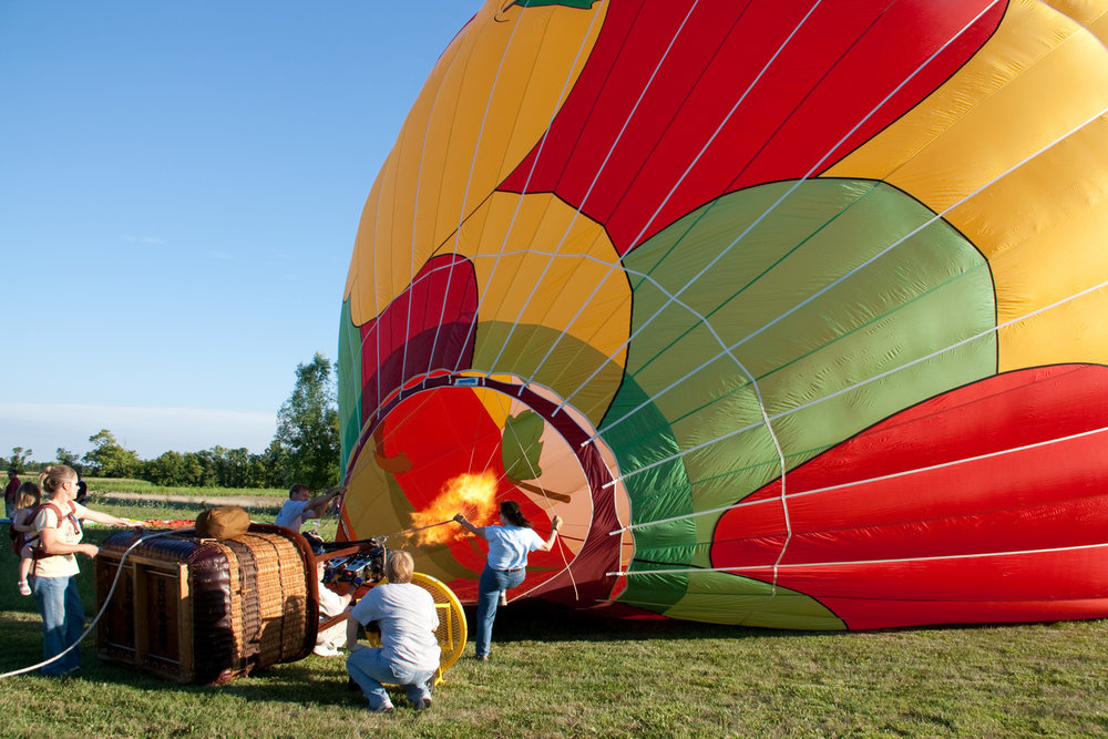 PURCHASE A BALLOON RIDE GIFT VOUCHER FOR SOMEONE SPECIAL