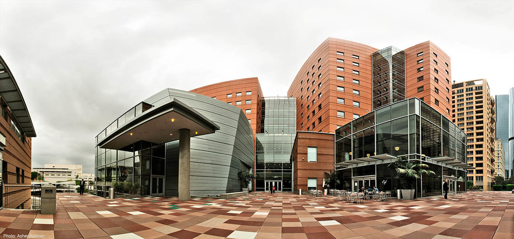 Colburn School Plaza Level and Residence Halls