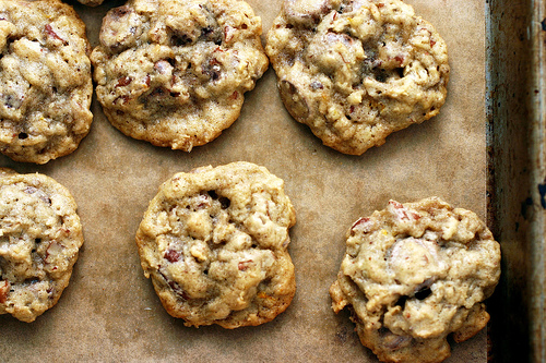 How about these oatmeal, chocolate chip, pecan cookies from Smitten Kitchen?