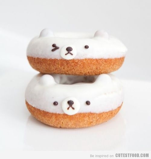 Bear doughnuts found on CutestFood.com