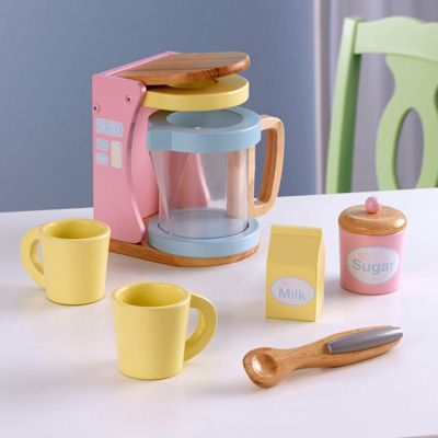The cutest coffee set by KidKraft