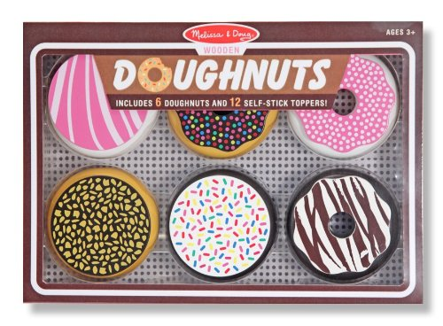 Play wooden doughnuts by Melissa and Doug