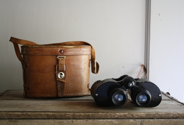 Binoculars and image from Etsy.com