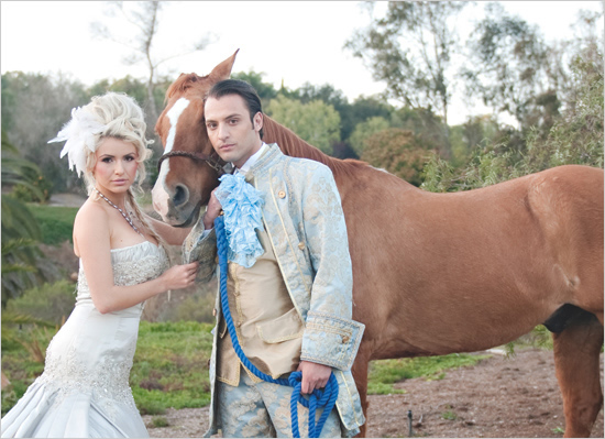 Cinderella theme wedding - Photo by Bethann Greenberg Photography