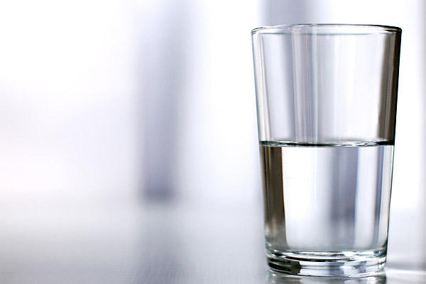 Is it half empty or half full?