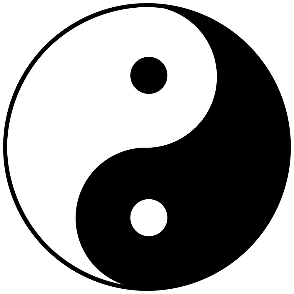 Do you know what the yin yang symbol really means balanced the yin yang symbol biocorpaavc Gallery
