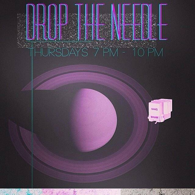 Drop the Needle - Live mix of all genres VINYL ONLY every Thursday night, 7-10 cst.