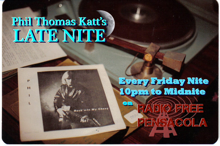 PTK Late Nite with The Eccentric Phil Thomas Katt LIVE Every Friday 10pm till Midnite Central Time. Expect the unexpected, PTK brings a mix of Obscure tracks along with Hits from many different genres and eras. Phil also showcases tunes submitted to him by artist around the world. Plus the audio tracks from many of the UZ music videos that he has produced as well. Tune In For A Cool Nite.