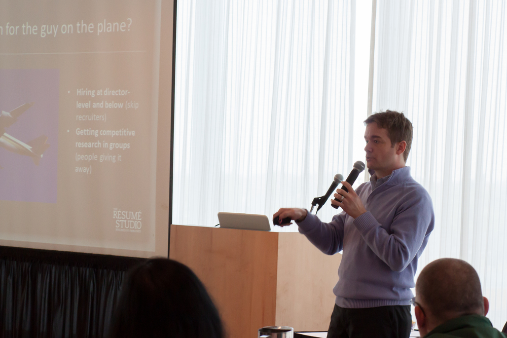 san francisco rsum writer jared redick presents rsum writing strategies to the cfa society of minnesota