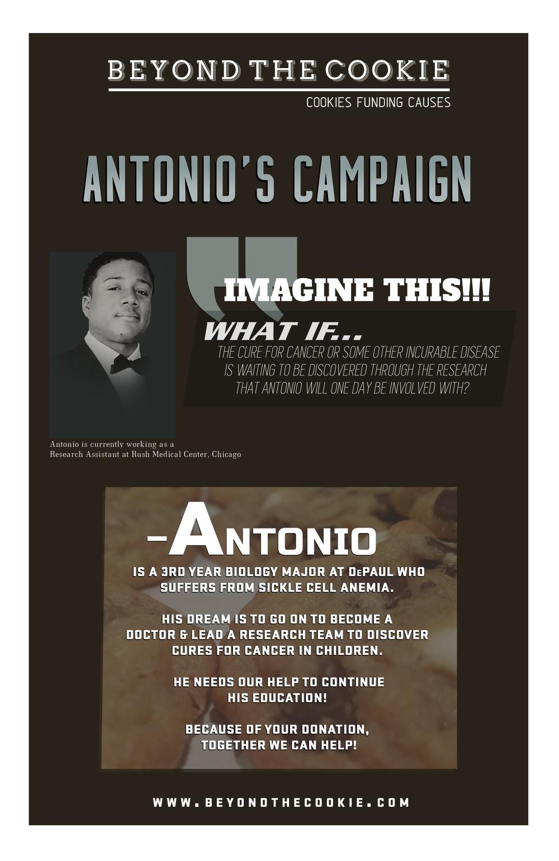 Antonio's Campaign Flyer