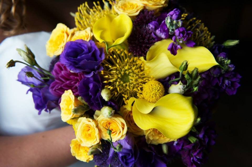 Deep purple and yellow wedding flowers sugarfield flowers deep purple and yellow mightylinksfo
