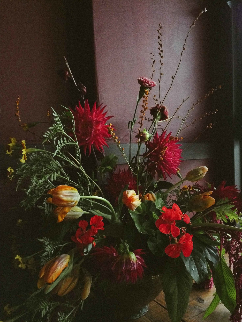 Flowers by Primula Floral Styling, photo by Eliza Rogers
