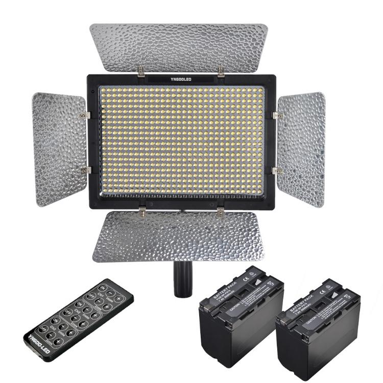 Versatile Lighting :  Yongnuo 600L II - Amazon Link