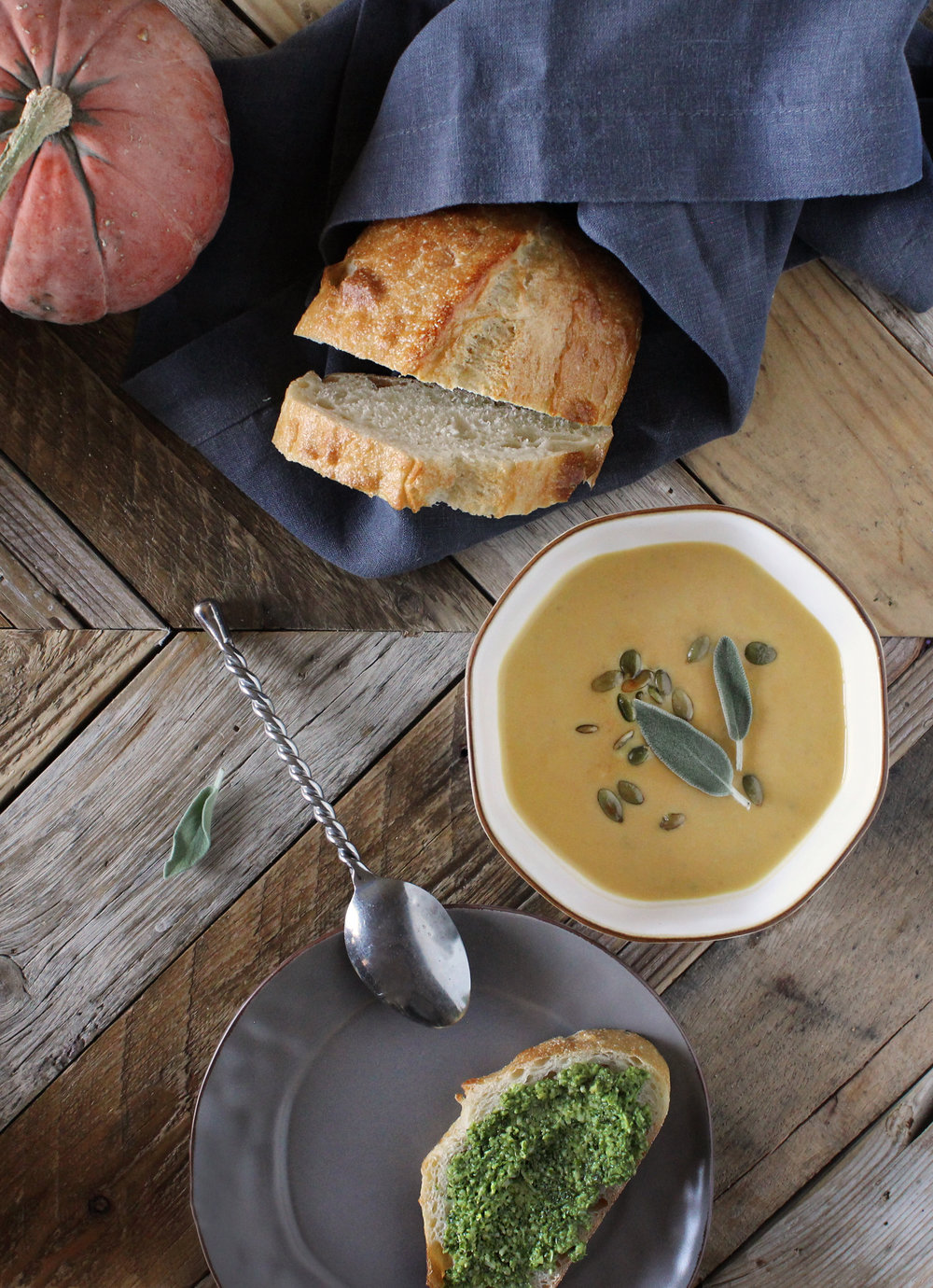 Creamy Pumpkin Soup by Sweet Laurel