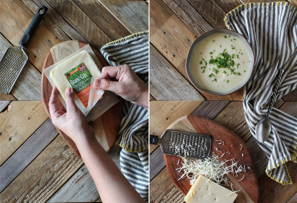 Creamy Winter Parsnip Soup by Sweet Laurel