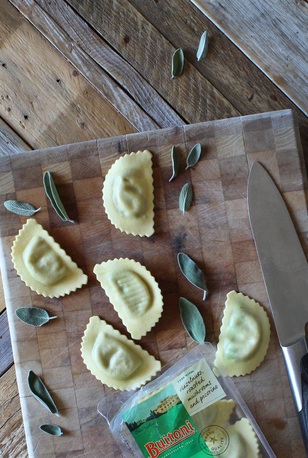 Mushroom Agnolotti by Sweet Laurel & Buitoni