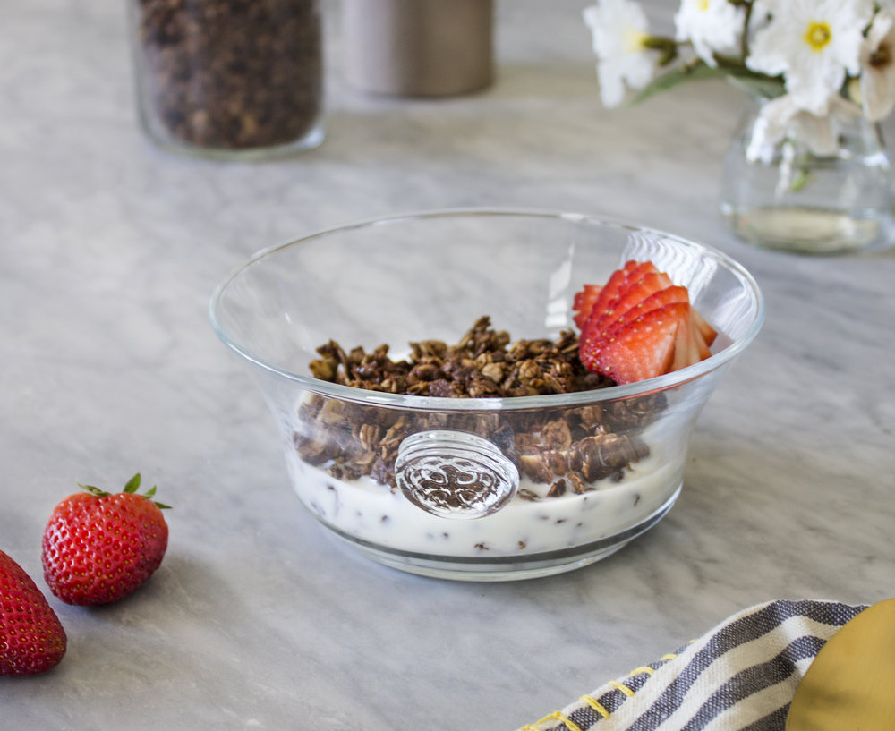 Coffee & Chocolate Granola by Sweet Laurel
