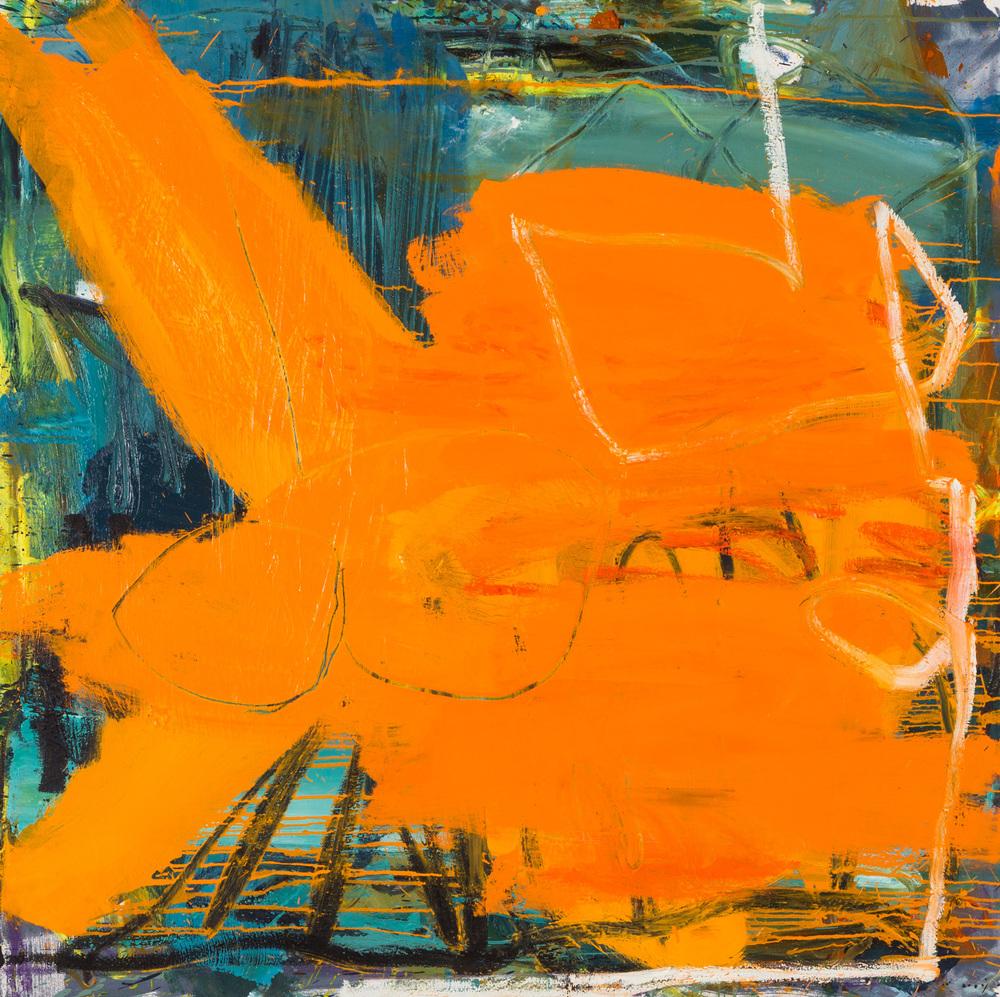 Eddie Vedder  , oil on canvas, 48x48 in. ©Denise Gale 2014