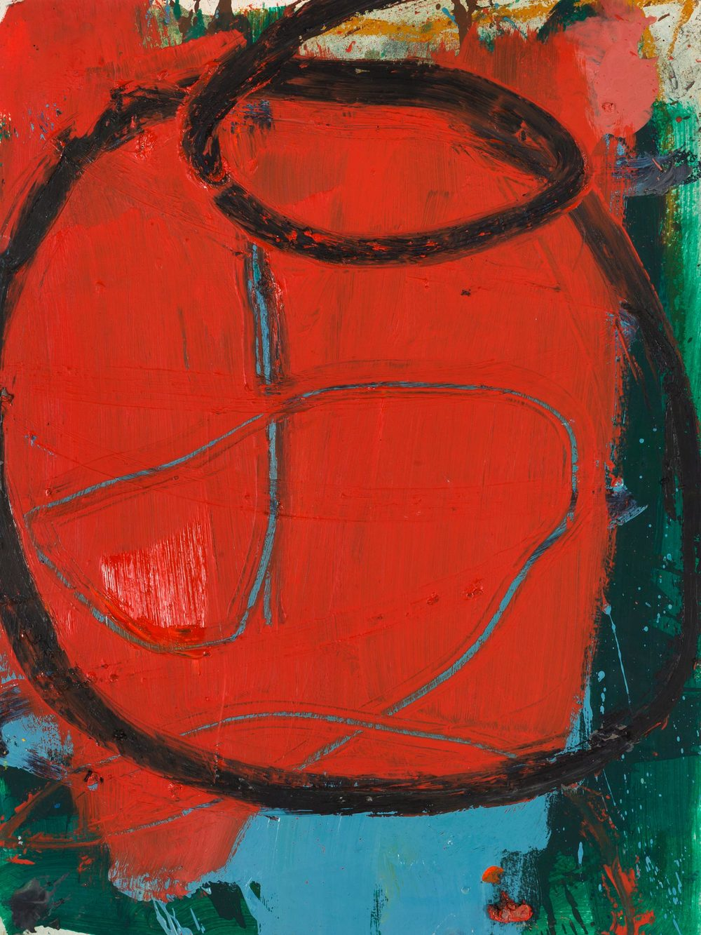 Tomato  , oil on paper, 24 x 18 in. ©Denise Gale 2013