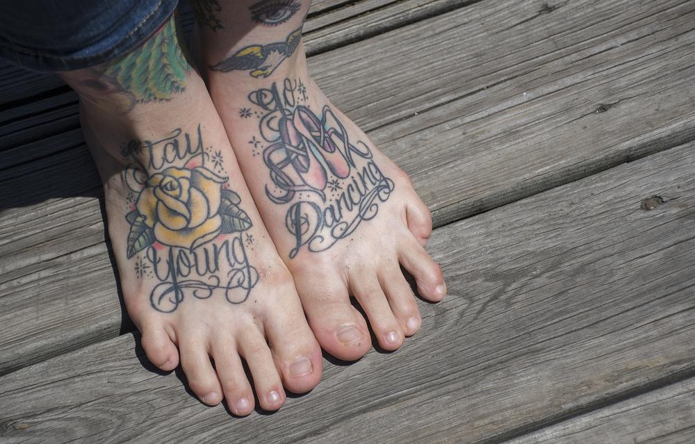 How New Jerseyans Tattoos Remember Lost Loved Ones Luke Nozicka