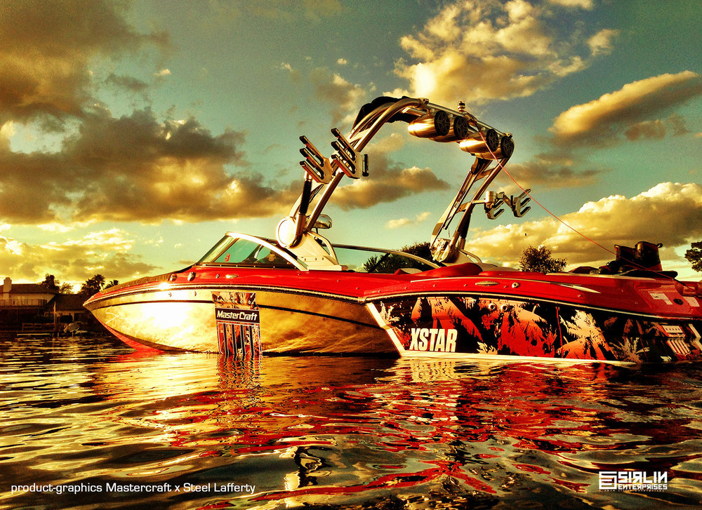 We started the trend for graphic wraps on boats.    Learn More