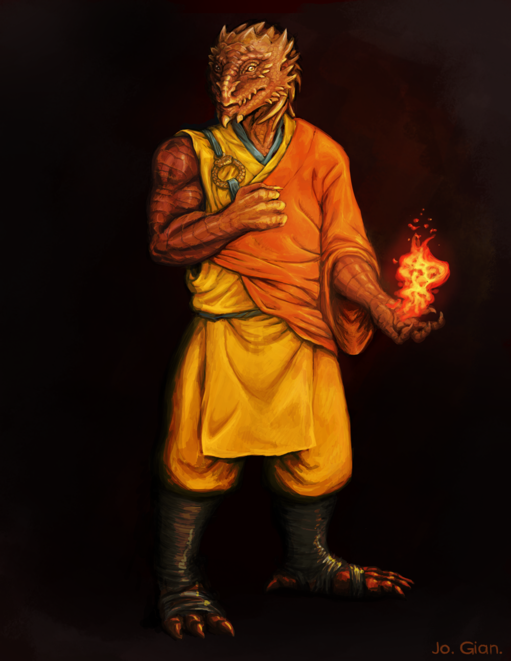 Dragon Monk