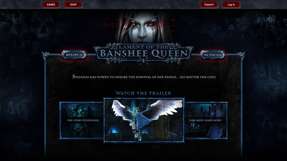 Lament of the Banshee Queen