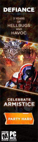 Defiance banner ad
