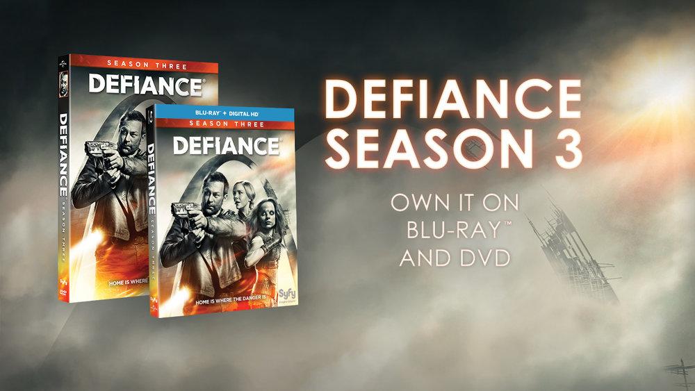 Defiance Advertisement