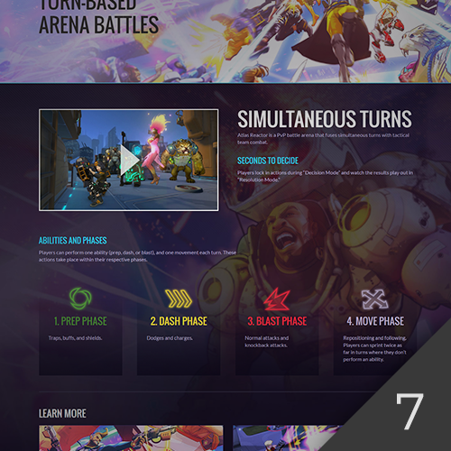Atlas Reactor Website