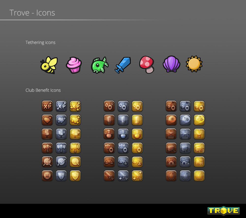 Trove - Icons
