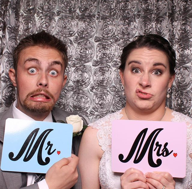 Thank you Matthew & Eileen for letting us be part of your wedding!  It was epic! #campbellssouperwedding #myclickphotobooth #weddinngphotobooth #wedding #love #mrandmrs #photobooth #harrisburgphotobooth