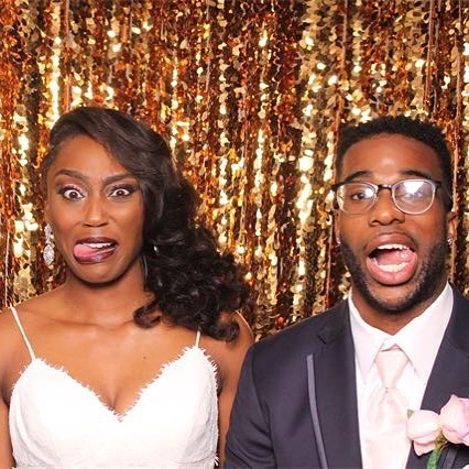 Congratulations Kiara and Trey #love #photobooth #colewedding #wedding #myclickphotobooth #april28 #paphotobooth #harrisburgphotobooth #middletownpa