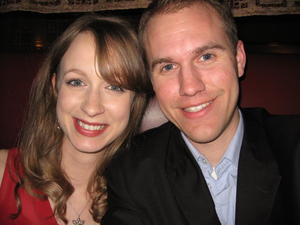 our first valentine's day together, 2009