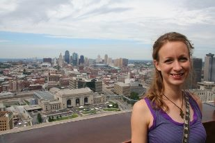 overlooking kansas city, 2008