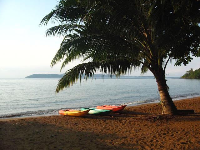 Koh Mak, island beach in Thailand