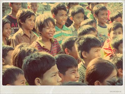 Samaritan's Purse Operation Christmas Child Shoebox distribution in Cambodia